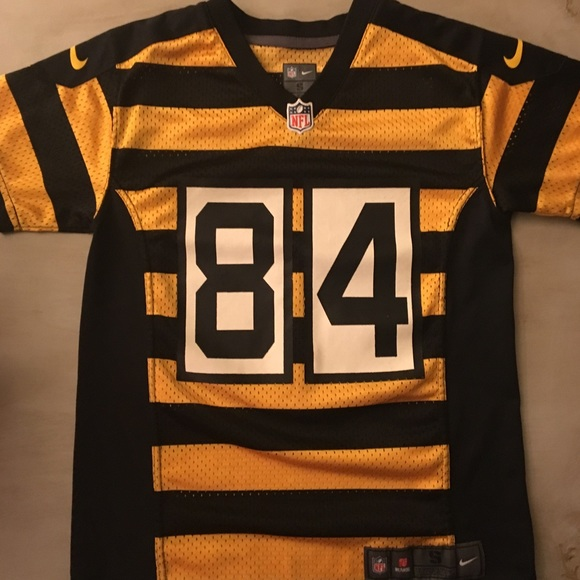 pretty nice 0bbfb eaf77 Boy's Steelers Antonio Brown throwback jersey